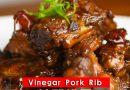 Vinegar Pork Ribs – 糖醋排骨 (新年食谱)