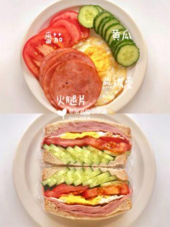 MCO 2.0早餐这样做!教你6款简单三明治早餐,一周不重样!